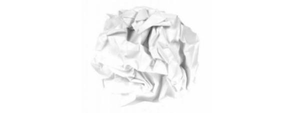screwed up paper blog post